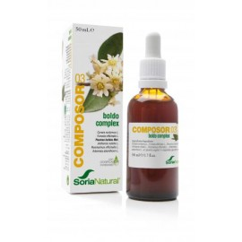 Soria Natural Composor 03 - Boldo Complex 50ml.